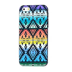iPhone 5S Case, WKell Aztec Pattern Hard Case for iPhone 5/5S