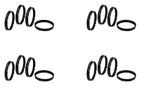 Gorilla Automotive  73-5406 Wheel Hub Centric Rings (73mm OD x 54.06mm ID) (4)