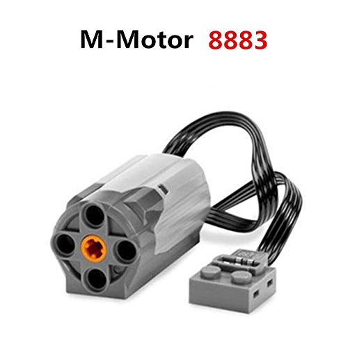 8883 Series - Power Function - M Motor Car Technic Series Building Blocks Train Power Functions Set DIY Bricks Educational Toys for Children Kids Gift - by Orchilld - 1 PCs