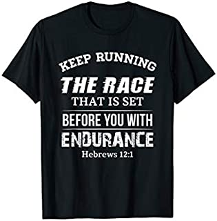 [Featured] Keep Running The Race That Is Set Before You Running Lover in ALL styles | Size S - 5XL