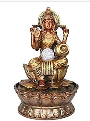 Indoor Water Fountain Laxmi Goddess Design Perfect For Diwali Gifting Buy Online At Best Price In Uae Amazon Ae