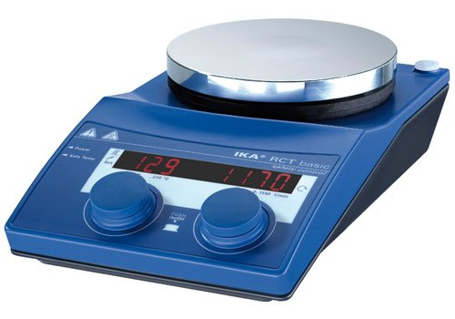 IKA 3810001 RCT Basic IKAMAG Safety Control Aluminum, Magnetic Stirrer, Hotplate, 115V - Ika Hot Plate