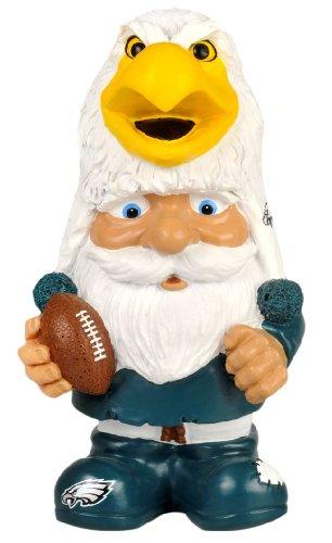 FOCO Philadelphia Eagles Football Mad Hatter Gnome (Philadelphia Eagles Garden Gnome)