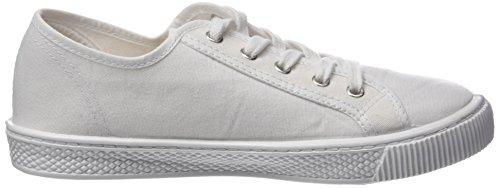 Levis Damen Malibu Sneakers Weiß (Brillant White)