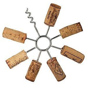 Sunburst Circular make your own - Wine Cork Trivet hot pot pad by Streamline