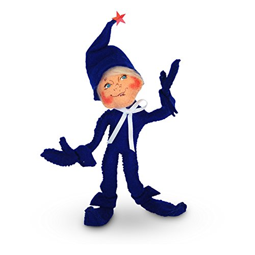 Annalee - 5in Patriotic Elf - Blue