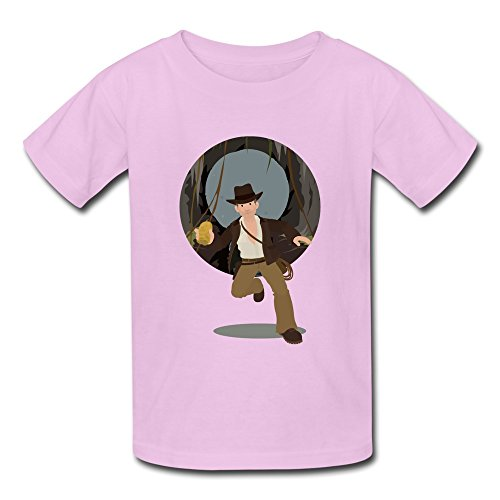 Price comparison product image Kazza Kid's Indiana Jones Movie Round Collar T Shirt S