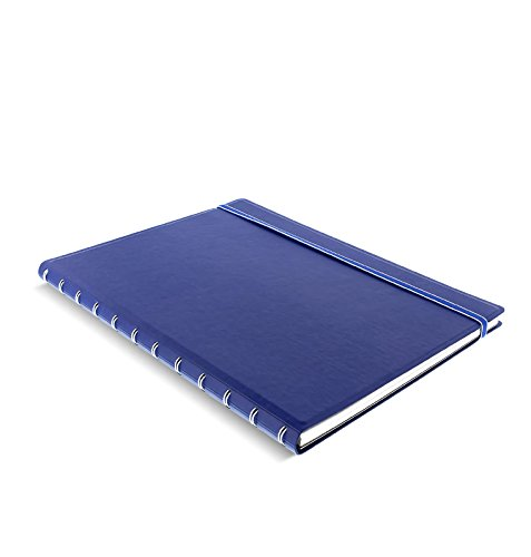 - Filofax A4 Refillable Notebook - Blue