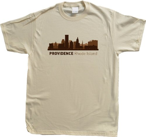 Providence, RI City Skyline Unisex T-shirt Rhode Island Hometown Pride Tee