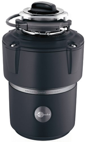 - InSinkErator Garbage Disposal, Evolution Cover Control Plus, 3/4 HP Batch Feed