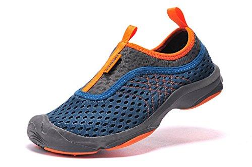 Senximaoyi Tela Es Transpirable Zapatos De Montaña Zapatos Antideslizantes, Verde Oscuro, 7.5