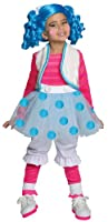 Lalaloopsy Deluxe Mittens Fluff-N-Stuff Costume, Small