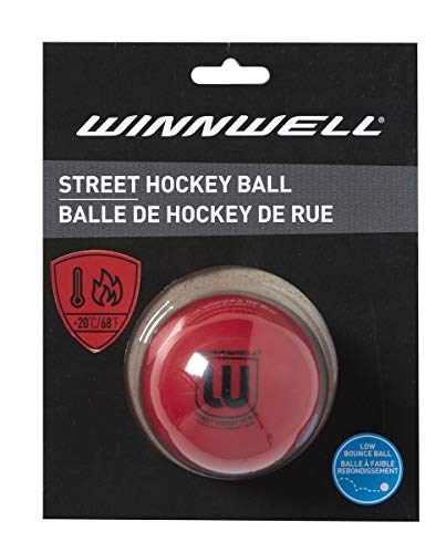 Red Low Bounce 65MM Street Hockey Ball Hard for Hot Weather – DiZiSports Store