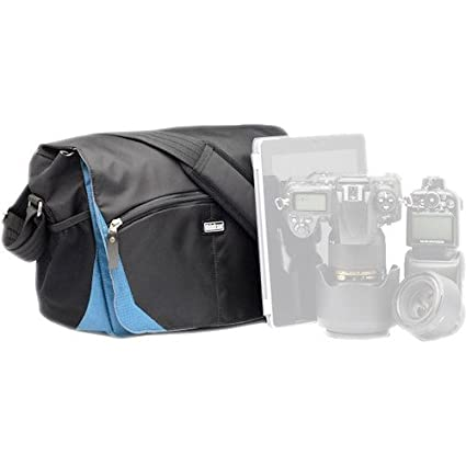 387385488e Image Unavailable. Image not available for. Color  Think Tank Photo  CityWalker 10 Messenger Bag in Blue Slate