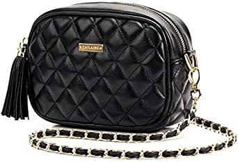 Lady Europe and America Quilted leather shoulder bag Packet [Haol-8224]