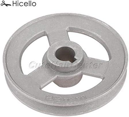 ShineBear - Polea para máquina de coser industrial (45 mm - 120 mm ...