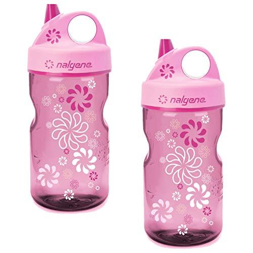 12 oz Bottle 2 Pack 3 Inches in Diameter By 7.5 Inches Tall. Nalgene OTF Kids