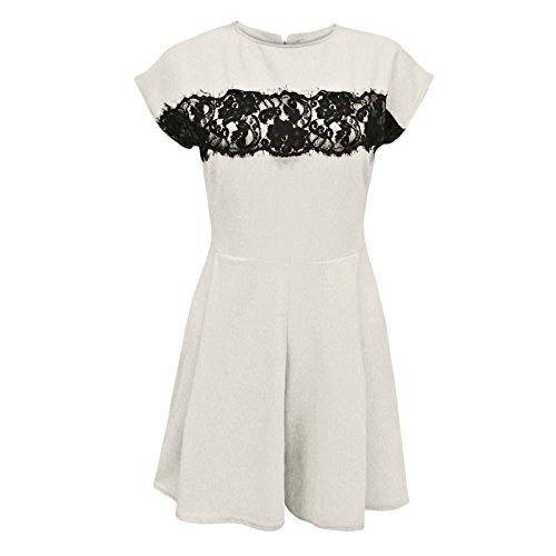 Envy Boutique - Vestido - para mujer Beige