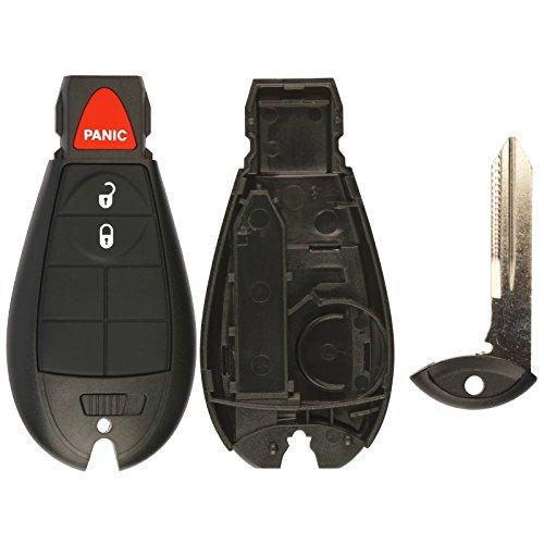 KeylessOption Just the Case Keyless Entry Remote Key Fob Shell For M3N5WY783X