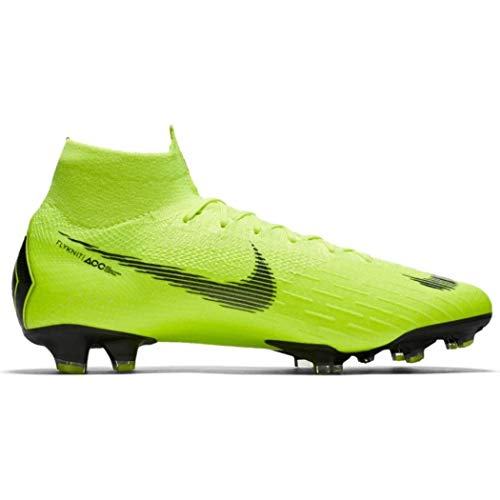 Nike Men's Superfly 6 Elite FG Firm-Ground Football Boot (Volt) (10 Men's US)