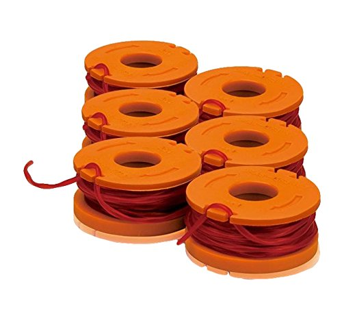 10'.065'' Replacement Line Spool for WG150, WG151, WG165 & WG166 String Trimmers (6 Pack) by Worx