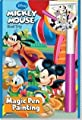 Disney Road Trip Mickey Mouse Magic Pen Painting Book by Lee Publications