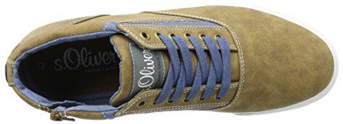 s.Oliver 15201, Zapatillas para Hombre Marrón (COGNAC 305)