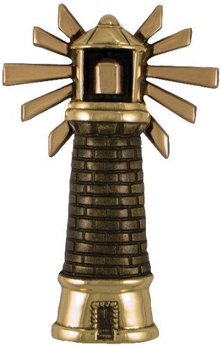 Lighthouse Door Knocker - Brass/Bronze (Premium Size) by Michael Healy Designs