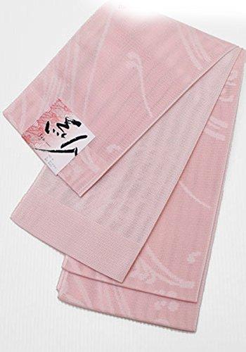 トレイルあいまいな奨学金和ごころきもの屋  夏用 紗 日本製 洗える半巾帯 半幅帯 リバーシブル 小袋帯 着物 浴衣 帯 洗えるphh297