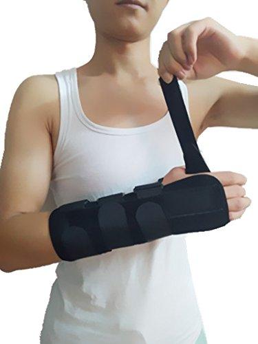Forearm and Wrist Support Splint Brace Forearm Immobilizer Brace (Right Hand Medium)