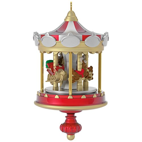 Hallmark Keepsake 2017 Christmas Carousel Mini Christmas (Hallmark Christmas Ornaments)