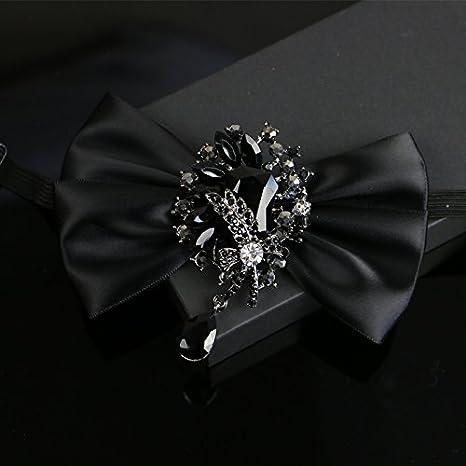 ZLYAYA,corbata,pajarita,Camisa de vestir traje de pajarita collar ...