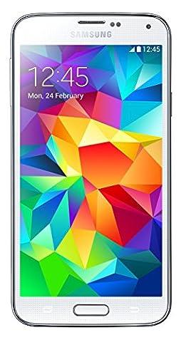 Samsung Galaxy S5 G900A Unlocked Cellphone, 16GB, White (Unlock Phones Samsung Galaxy)