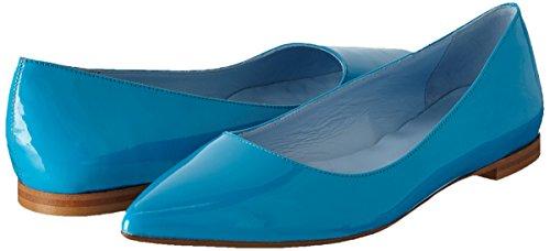 Azul Zapatillas Turchese tunit10 Mujer Vernice Scarpad De Ballet Pollini w8ZIxpPq8