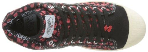 Le Temps des Cerises Basic 03, Damen Sneakers Schwarz - Noir (Cherry/Black/Red)