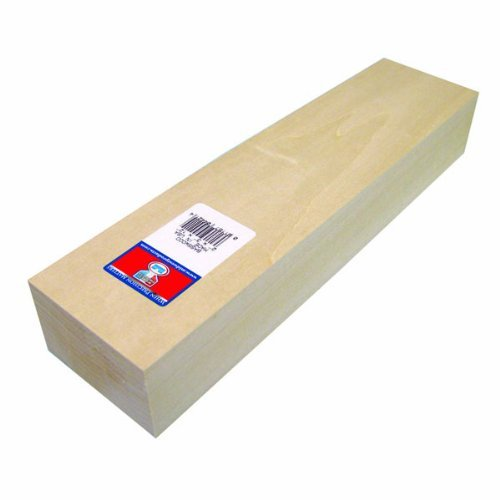 midwest-products-4422-micro-cut-quality-basswood-block-2-by-4-by-12-inch