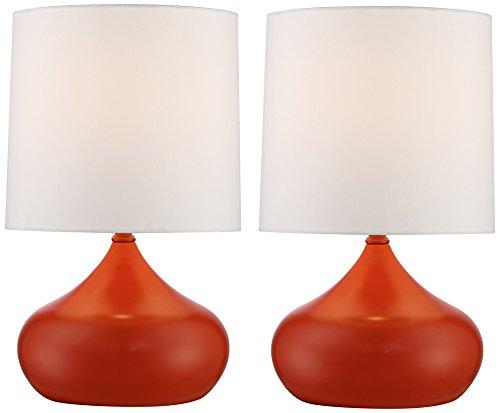 orange table lamp - 5