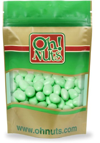 Green Jordan Almonds 5 Pound Bag - Oh! Nuts