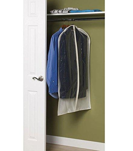 K&A Company Canvas Suit Bag, 42'' x 2'' x 2 lbs