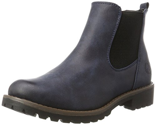 Jane Klain Women's 253 528 Chelsea Boots, Grey Blue (Navy 832)