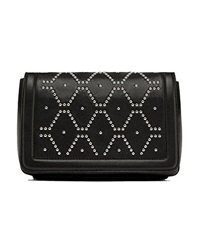 Zara Donna Borsa tracolla pelle borchie 8463/204