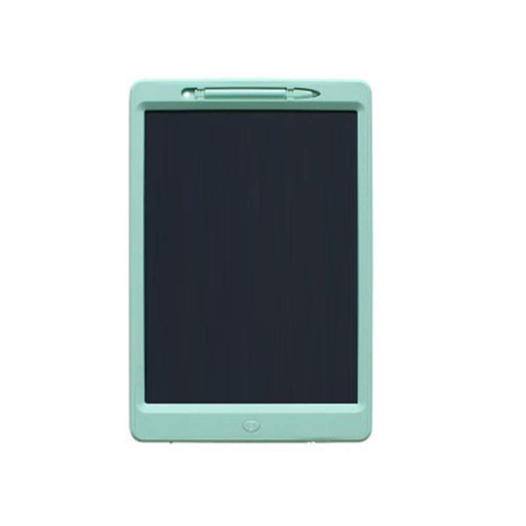 Vert  LMCYP Tablette d'écriture LCD, tablette de dessin lcd écrit écran écran monochrome écriture électronique Conseil Pads griffonnages Planche à dessin Cadeaux pour enfants + Verrouillage du bouton d'effa