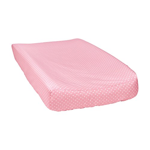 Trend Lab Cotton (Trend Lab Mini Dot Changing Pad Cover, Cotton Candy)