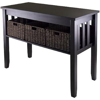 Amazoncom Linon Home Decor Anna Collection Console Table