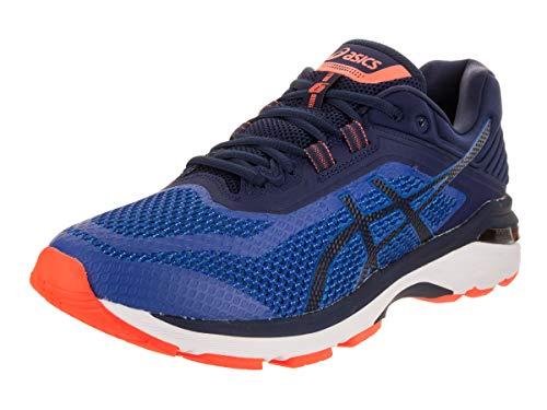 Running Stability Shoe 6 Control - ASICS Men's GT-2000 6 Imperial/Indigo Blue/Shocking Orange 11 D US