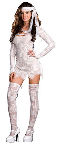 GTH Women's Egyptian Sexy Yo Mummy Theme Party Fancy Halloween Costume, S (2-6) (Cheap Sexy Halloween Costumes For Women)