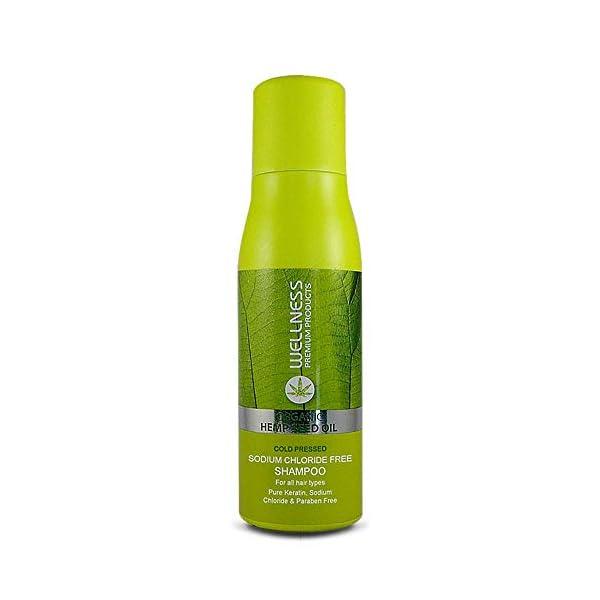 Wellness Organic HEMP Seed Oil Shampoo 500ml 16.9 fl.oz.