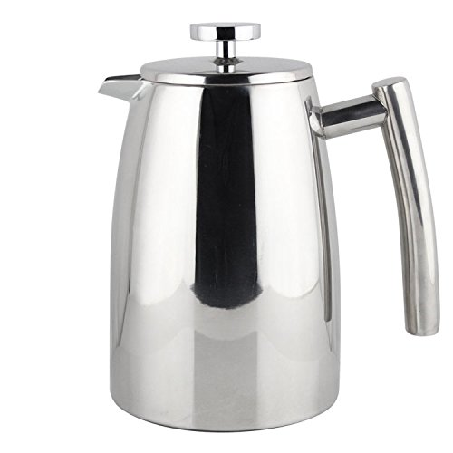Elegant French Coffee Press Stainless Steel Insulated Double