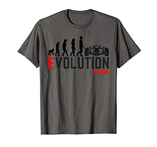 Car Racing shirt Evolution IndyCar F1 Formula 1 T shirt for sale  Delivered anywhere in USA