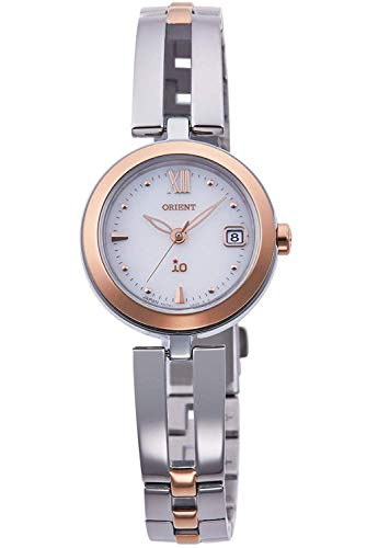 Orient iO Io Natural & Plain Light Charge Watch RN-WG0002S1J Ladies